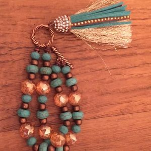 Jewelry - Copper and Turquoise bracelet